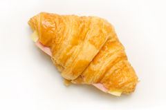 Ham Cheese croissants Royalty Free Stock Photography