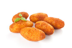 Ham and cheese croquettes Stock Photo