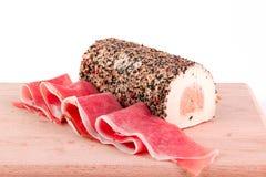 Ham and cheese Stock Image