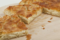 Ham and cheese pie Royalty Free Stock Photography