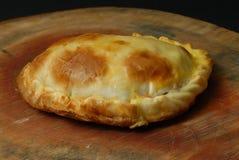 Ham and cheese PITA POCKETS Stock Photography