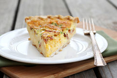 Ham and Cheese Quiche Stock Images