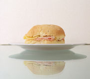 Ham and cheese sandwich - 1 Royalty Free Stock Image