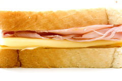Ham and cheese sandwich Royalty Free Stock Image