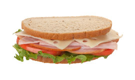 Ham and Cheese Sandwich Stock Photos
