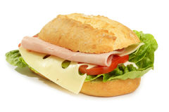 Ham cheese sandwich Royalty Free Stock Image
