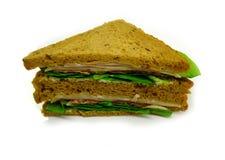 Ham and cheese sandwich stock photo