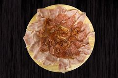 Ham dish Stock Image