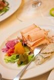 Ham in dish Royalty Free Stock Photo
