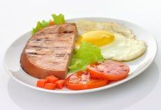 Ham and egg Royalty Free Stock Photo