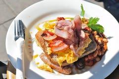 Ham Egg Beacon Breakfast Stock Image