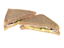 Ham and Egg Sandwich Stock Images
