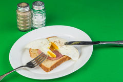 Ham and Egg Sandwich Royalty Free Stock Image