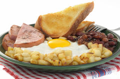 Ham and Eggs 2 Royalty Free Stock Image