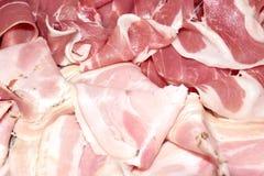 Ham en braadstukvarkensvlees Royalty-vrije Stock Foto's