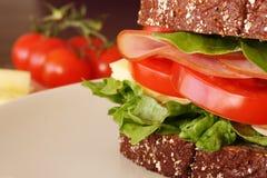 Ham en kaas Stock Fotografie
