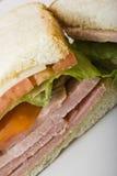 Ham en kaas Royalty-vrije Stock Fotografie