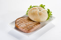 Ham hamburger Royalty Free Stock Images