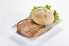 Ham hamburger Royalty Free Stock Images