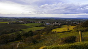 Ham Hill - Time Lapse Video stock footage