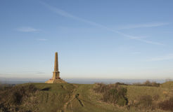 Ham Hill War Memorial Arkivfoto
