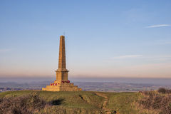 Ham Hill War Memorial. Near Yeovil in Somerset in England Royalty Free Stock Images