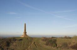 Ham Hill War Memorial. Near Yeovil in Somerset in England Stock Photo