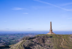 Ham Hill War Memorial. Near Yeovil in Somerset in England Stock Photography