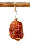 Ham Hock Wrapped senz'ossa affumicato in reticolato Immagini Stock Libere da Diritti