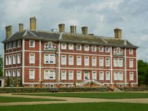 Ham House near Richmond Greater London. The back view of Ham House which is owned by the National Trust,built in 1610 by thomas vavasour,it is one of the most Royalty Free Stock Photography