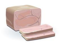 Ham illustration Stock Photo