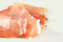 Ham, Italian prosciutto Royalty Free Stock Photo