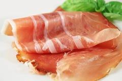 Ham, Italian prosciutto Stock Images