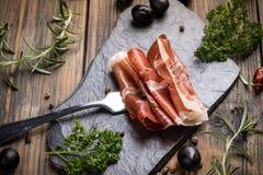 Ham or jamon Royalty Free Stock Image