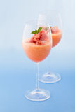 Ham and Melon Cocktail Stock Photography