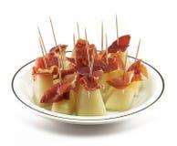 Ham and Melon Stock Photos
