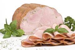 Ham met kruiden Stock Fotografie