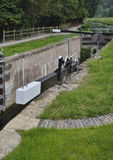 Ham Mill Lock, Thrupp imagen de archivo