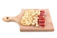 Ham and parmesan Stock Image
