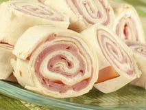 Ham Pinwheels Stock Images