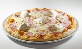 Ham Pizza Fotografia de Stock Royalty Free
