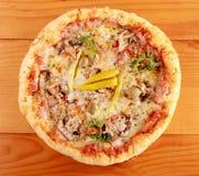 Ham Pizza Imagen de archivo