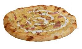 Ham Pizza Royalty-vrije Stock Afbeelding