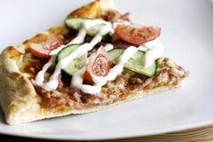 Ham Pizza Stock Photo