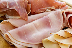 Ham Platter Stock Photo