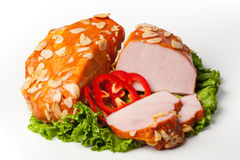 Ham pork Stock Photography