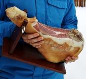 Ham (prosciutto) Royalty Free Stock Image