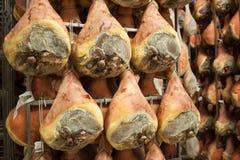 Ham prosciutto di parma Stock Photo
