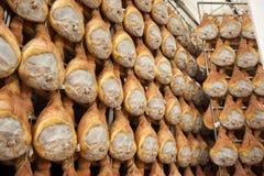 Ham prosciutto di parma Stock Image