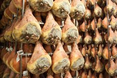 Ham prosciutto di parma. Parma ham product typical Emilian stock photography